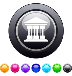 Exchange circle button vector image vector image