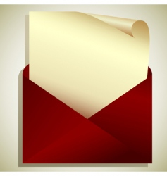 tag in envelope vector image