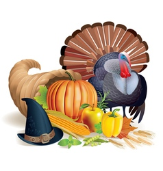 Feast of Thanksgiving vector image vector image