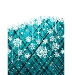 blue abstract christmas background eps 8 vector image