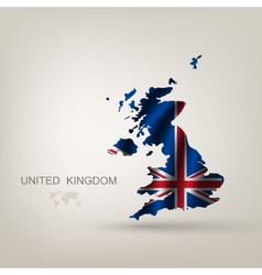Flag of Great Britain as a country vector image