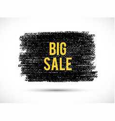 Big-sale-yellow vector