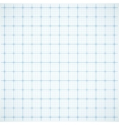 Blue square grid on white background vector image