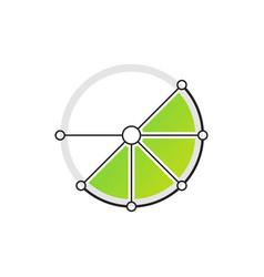 Lime logo vector