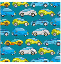 modern car futuristic pattern background vector image