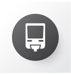 Monorail icon symbol premium quality isolated vector
