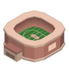 sport stadium icon isometric style vector image
