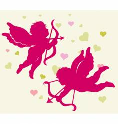 Valentine's Day cupid vector image vector image
