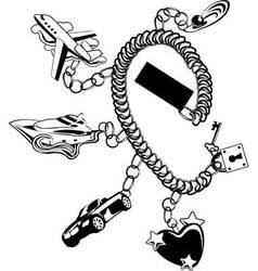 bracelet vector image vector image