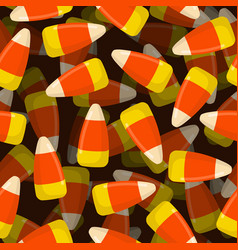 corn candy seamless pattern 3d sweets texture vector image vector image