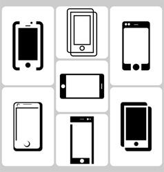 Phone Logo Set vector image vector image