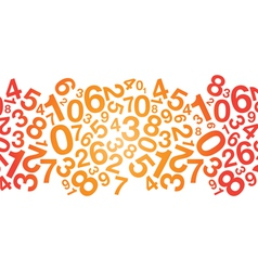 red number background vector image vector image