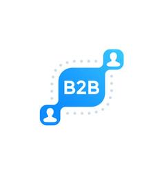 B2b commerce vector