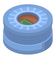 big football arena icon isometric style vector image