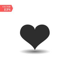 heart icon perfect love symbol valentine s day vector image