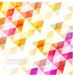 light clean geometric background vector image