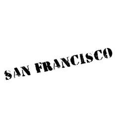 San Francisco stamp vector image