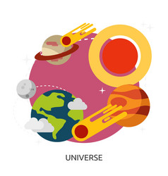 Space universe image vector