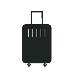 Travel bag icon for application or website vector