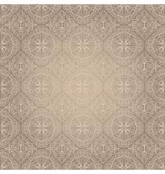 Light vintage seamless pattern vector image