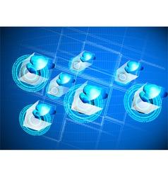 Cloud provider vector