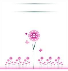 Valentin card 49 vector image