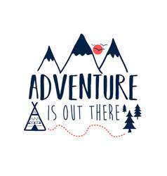 adventure icons print vector image