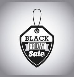 black friday deals vector image