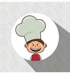 boy kids menu food vector image