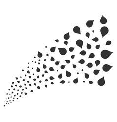 Drop source stream vector