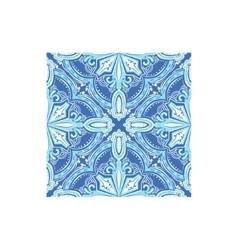 Geometric pattern azulejo tile portuguese famous vector