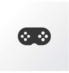 Joystick icon symbol premium quality isolated vector