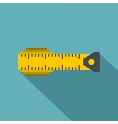 Measuring centimeter icon flat style vector