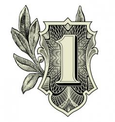 money symbols vector image