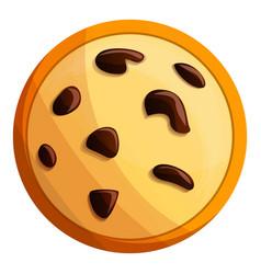 Peanut cookies icon cartoon style vector