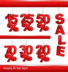 sale signs vector image