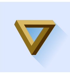 Single triangle vector