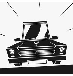 Symbol car vector