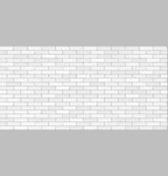 white brick wall texture seamless vector image