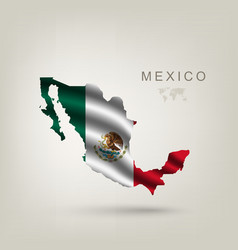 Flag of Mexico as a country vector image