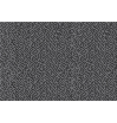 Background with shiny silver sequins Eps10 vector image