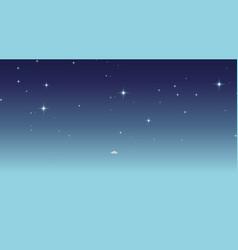 Blank empty space scene vector