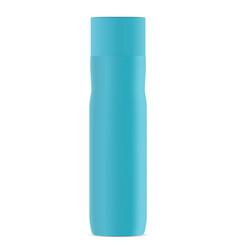 Deodorant spray bottle blue aerosol tube mockup vector