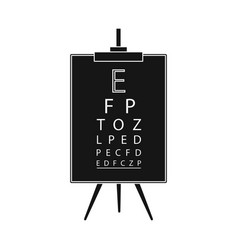 Isolated object vision and test symbol set of vector
