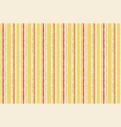 Striped orange yellow pattern seamless watercolor vector