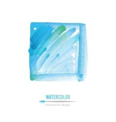 Watercolor element vector