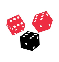 dice game vector image vector image