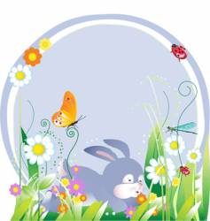easter illustration vector image vector image