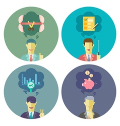 Business and Management set 3 vector image vector image