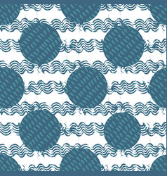 abstract water element geometric background vector image